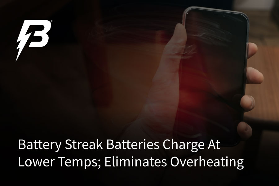 Overheating cell phone in hand after charging.